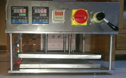 气动热定型设备的开发